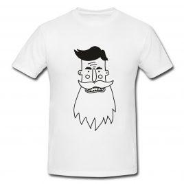 Koszulka Brodacz Męska XL biała