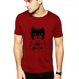Koszulka BAT CAT L czerwona