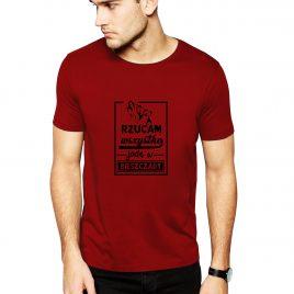 Koszulka BIESZCZADY L czerwona